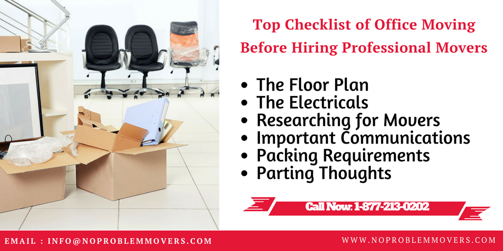 Office Moving Checklist
