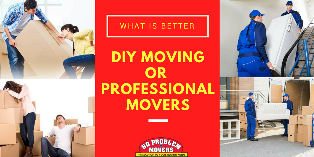 DIY Moving or Professional Movers