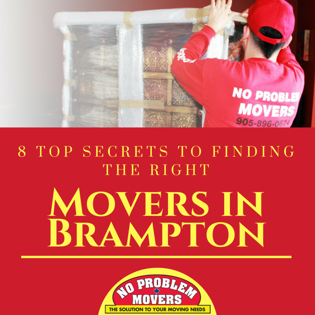 Right Movers in Brampton