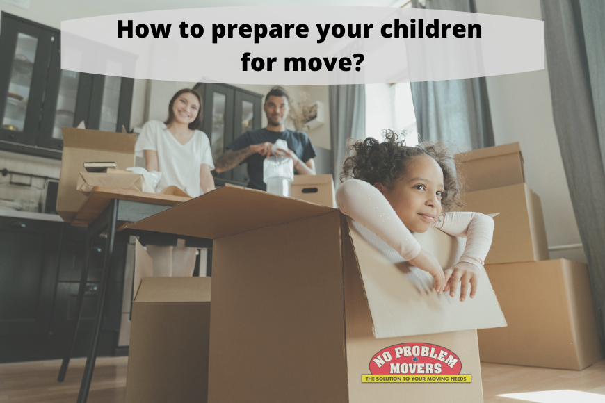 Prepare your children for move